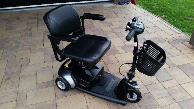 Elektrický invalidní skútr Go-Go Traveller