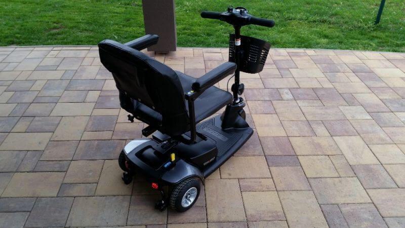 Elektrická tříkolka gogo traveller